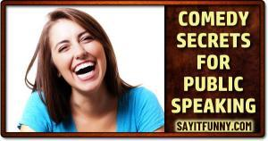 add humor to any speech