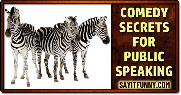 add humor to speeches and presentations