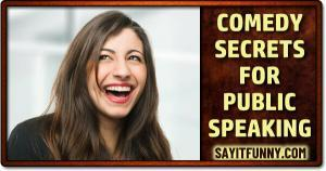 give funny speeches the easy way